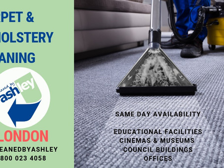PROFESSIONAL CARPET CLEANING SERVICES | LONDON