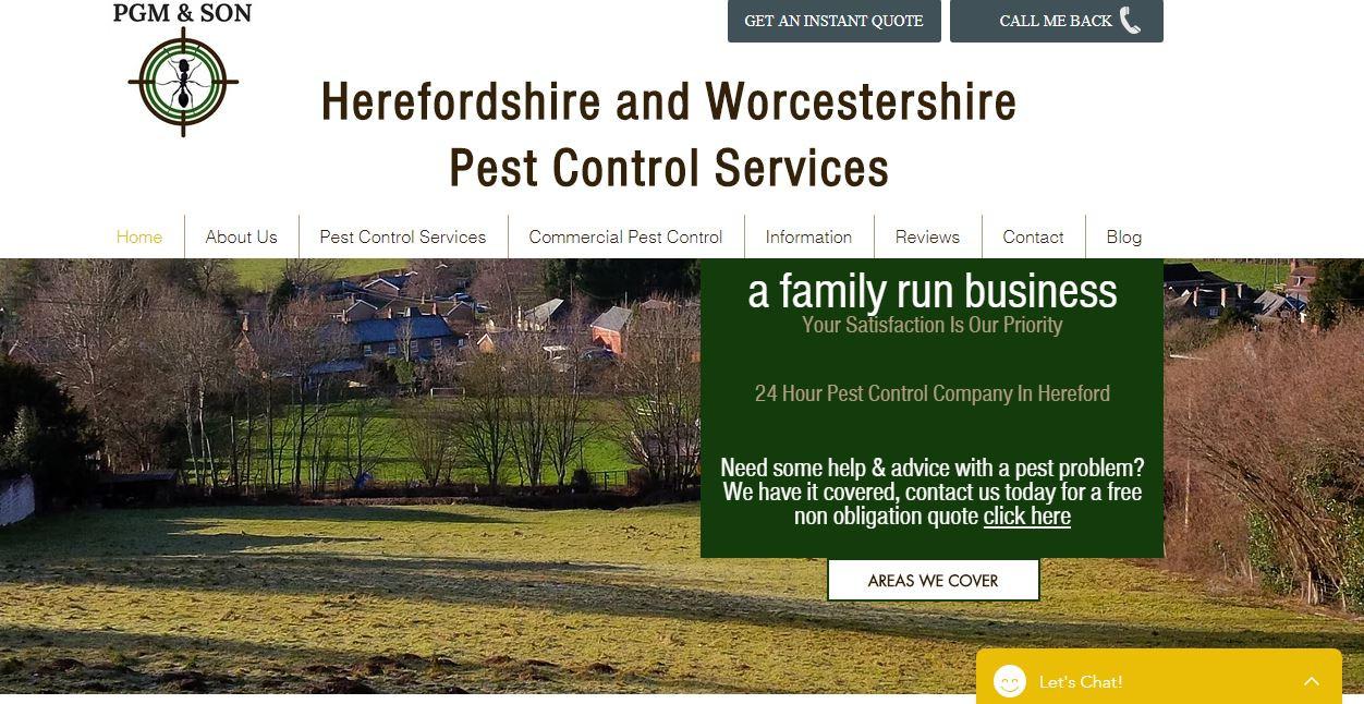 PGM Pest Control Services