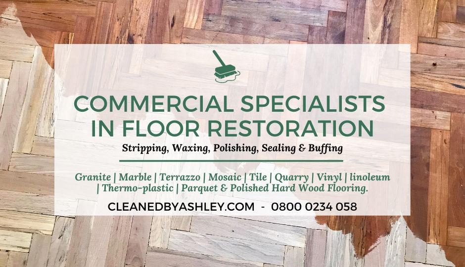 Commercial Floor Sealing Polishing London