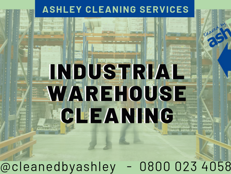 INDUSTRIAL WAREHOUSE CLEANING LONDON - NATIONWIDE