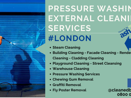 External Cleaning Services Graffiti Removal London | Nationwide