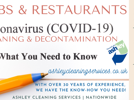 Be Covid Secure   Safely Reopen Your Pub & Restaurant