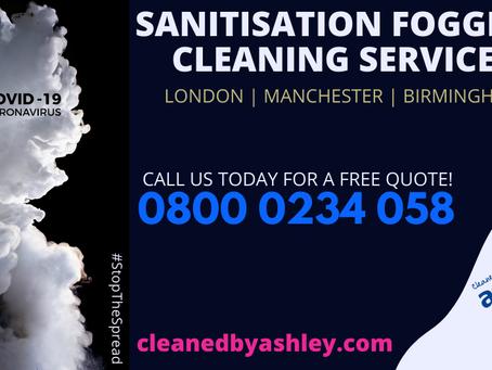 Coronavirus Deep Cleaning Fogging Service - London