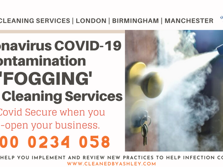 Coronavirus Deep Clean - London Decontamination Cleaning Services