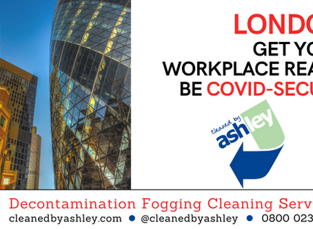 COVID-19 Coronavirus Cleaning & Decontamination Fogging Services London