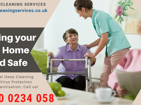 Deep cleaning Services for Care Homes & Nursing Homes