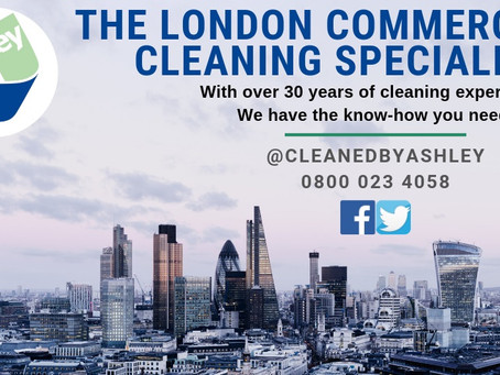 COMMERCIAL CLEANING SERVICES LONDON 2019