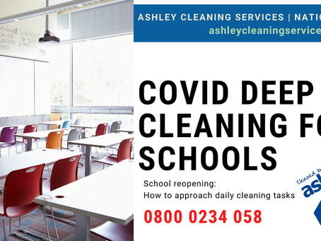 COVID-19 Deep Cleaning Services for Schools