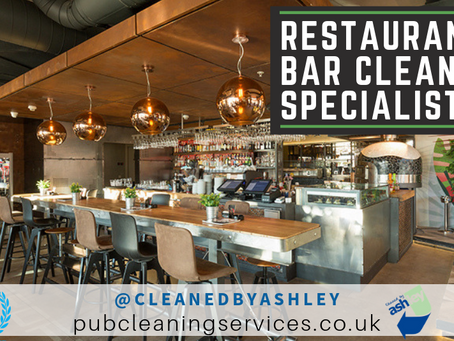 Pub Cleaning Services Nationwide