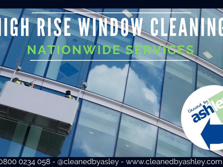COMMERCIAL WINDOW & SOLAR PANEL CLEANING IN LONDON