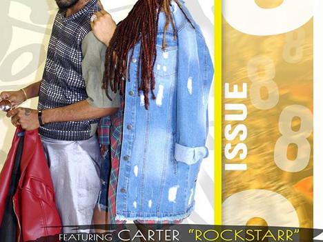 Carter & Zyoness cover Lovin Locs Magazine + Tae Designz Feature