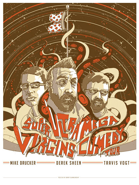 Virgins of Comedy Tour Poster
