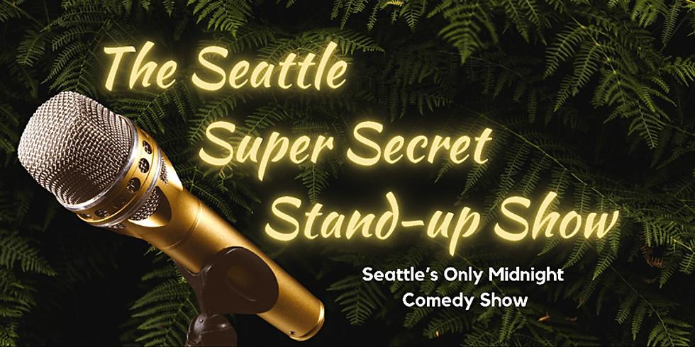 Super Secret Stand-up Show @ CSz Seattle: Home of ComedySportz