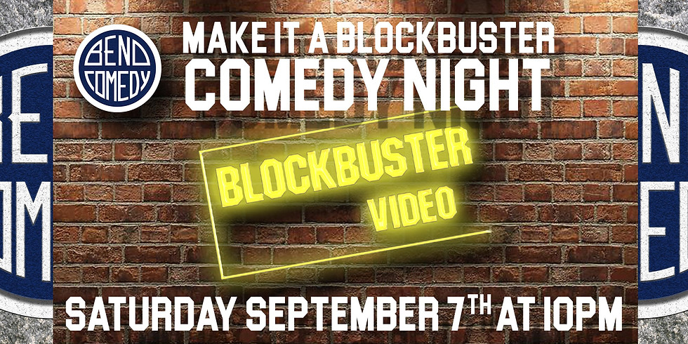 COMEDY SHOW AT THE WORLD'S LAST BLOCKBUSTER VIDEO!!