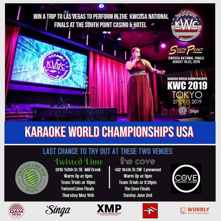 AUG. 18-22 WORLD KARAOKE CHAMPIONSHIP-LAS VEGAS