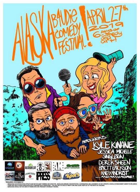Alaska Comedy Festival Poster