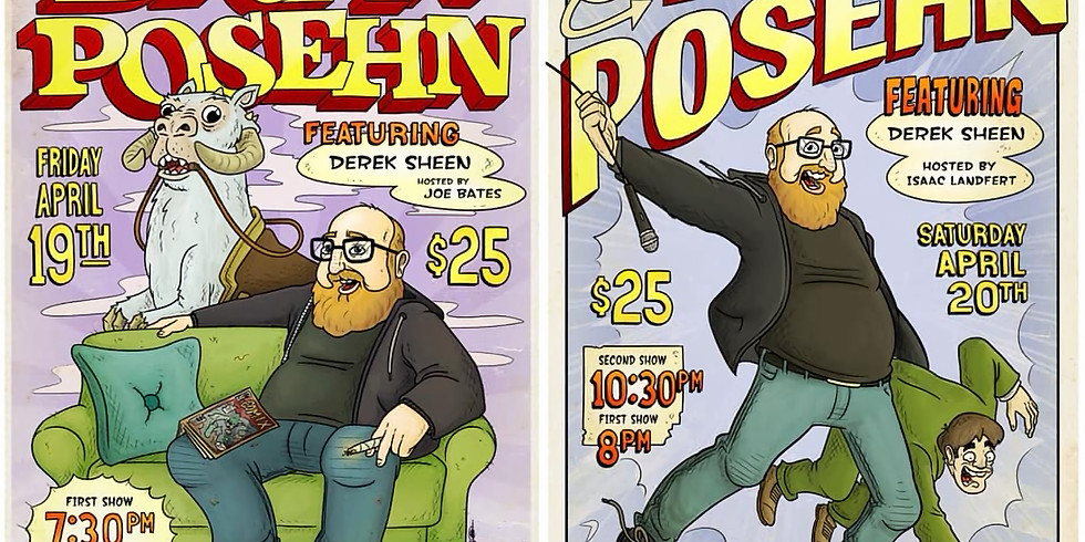 Brian Posehn in Indy!!