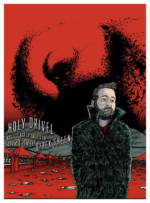 Holy Drivel - NA Tour Poster