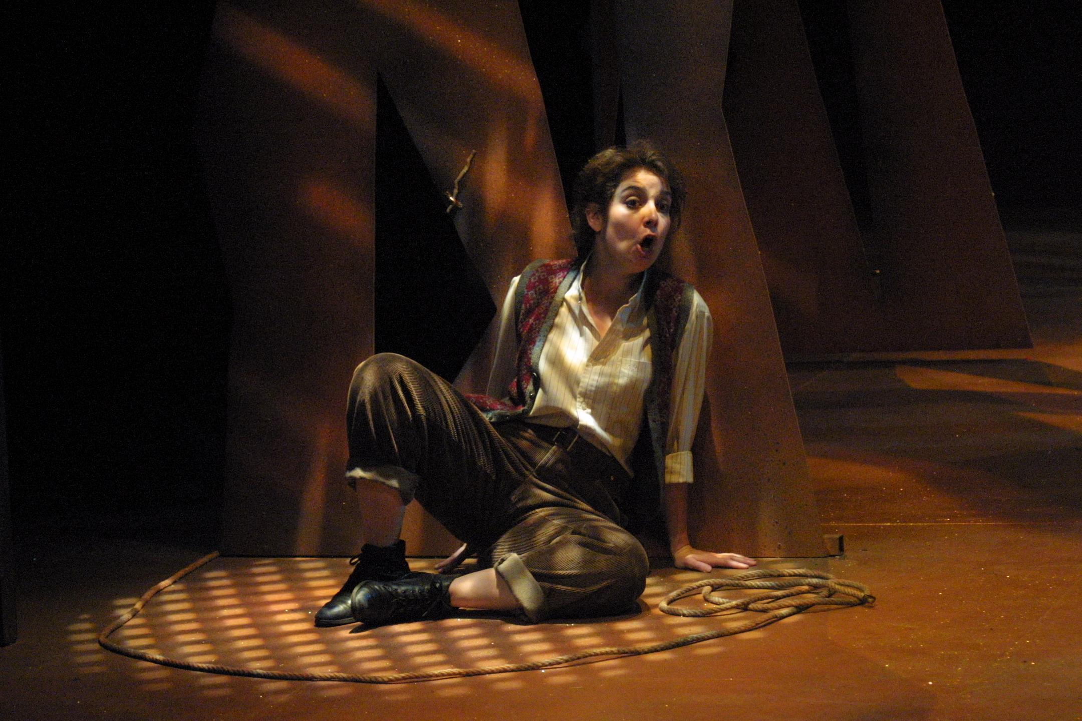Sarah Jillian Cox as Hansel, Stowe Opera 2003