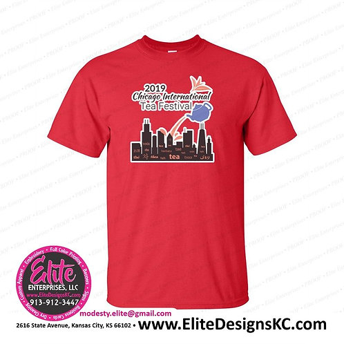 2019 Chicago Tea Festival Event Tee