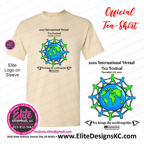 2020 International Virtual Tea Festival Event Tee