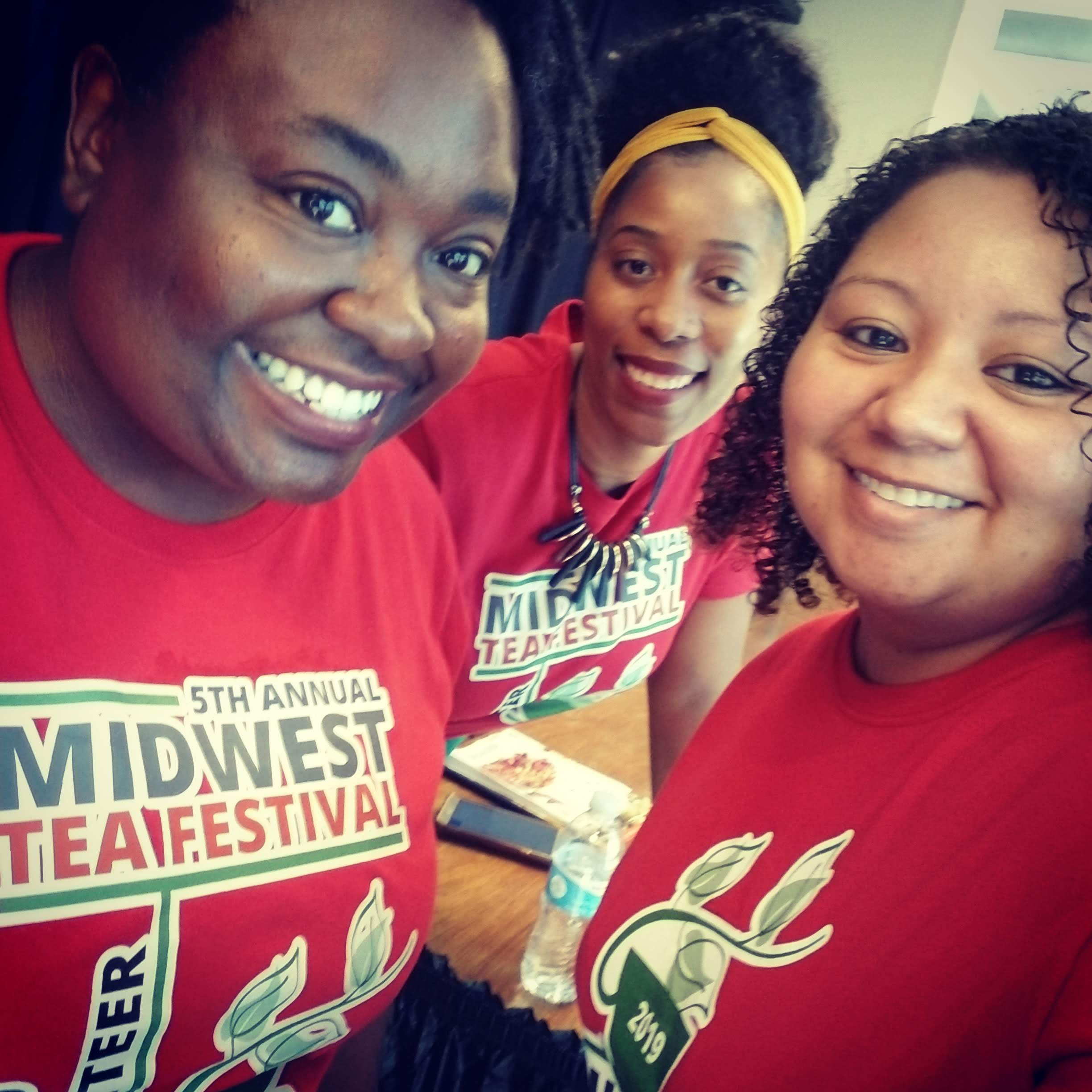 2019 Midwest Tea Fest Volunteers