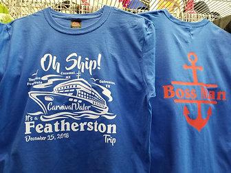 Two Sided Custom T-shirt