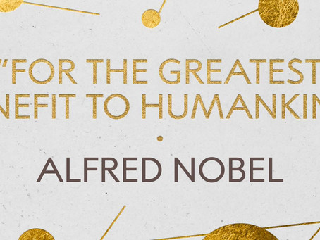 Today is Nobel Prize Day.