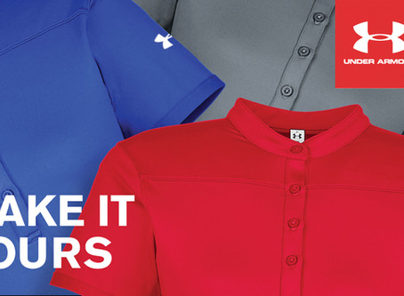 Great News Under Armour Available Now!