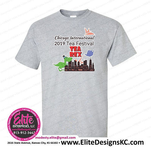 Tee 2019 Chicago Tea Festival Tea Rex Event Tee