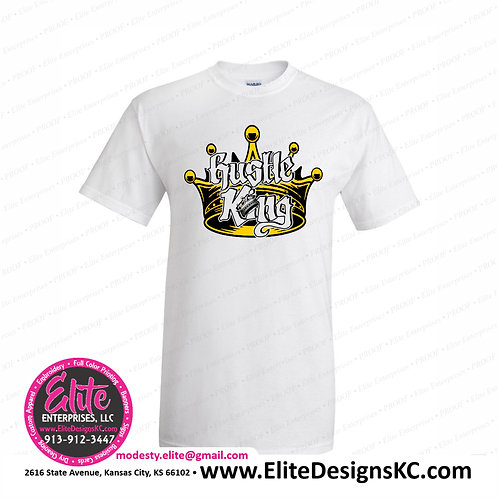 Hustle King - White