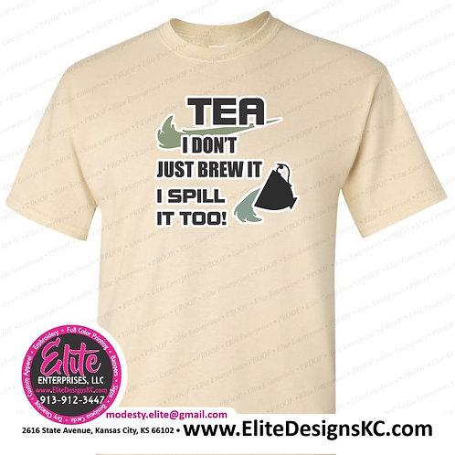 Tea 19 Spill it Too