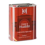 Spaanse olijfolie van Casas de Hualdo, geïmporteerd door Rici uit Hellevoetsluis olijfolie, casas de Hualdo, arbequina, picual, manzanilla, cornicabra, rici