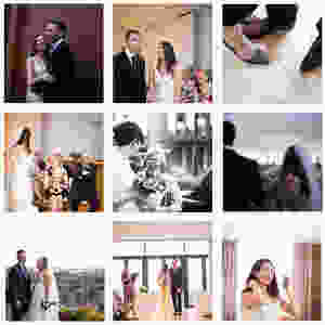 Collection of wedding photographs from Hope Street Hotel Liverpool