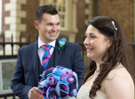 Lucy comes highly recommended  Bluecoat Wedding