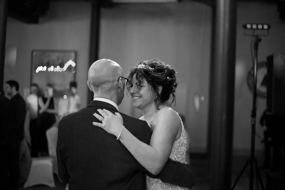 First dance at Titanic Hotel Wedding Liverpool