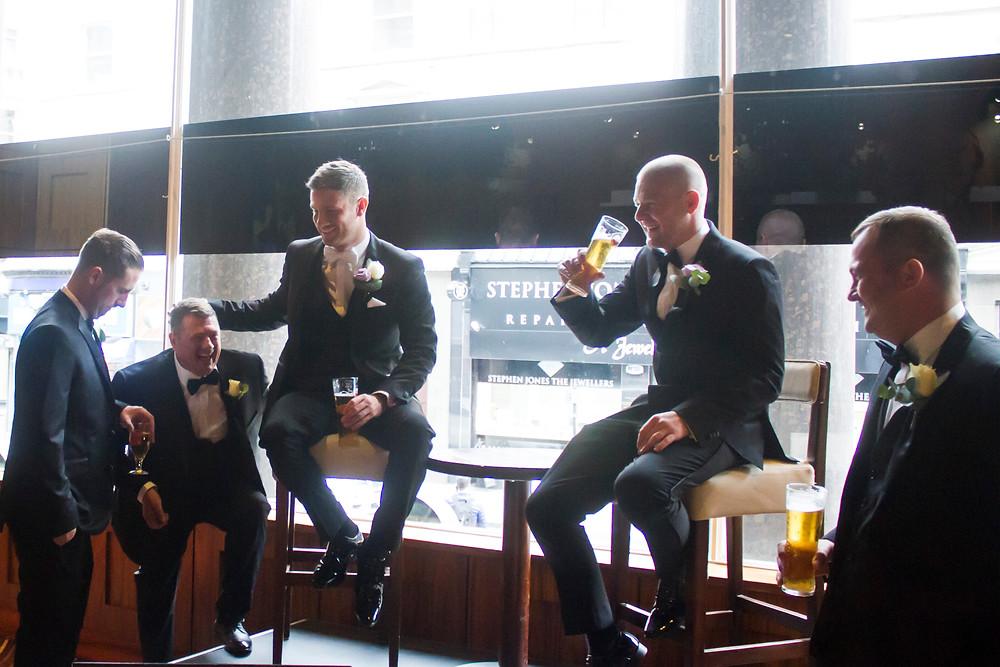 Hard Days Night Hotel Wedding Groomsmen