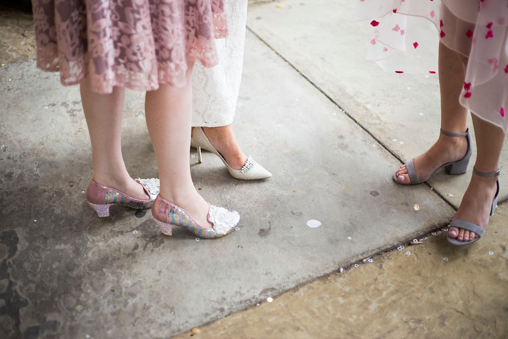 Bridesmaid shoe goal Liverpool Wedding
