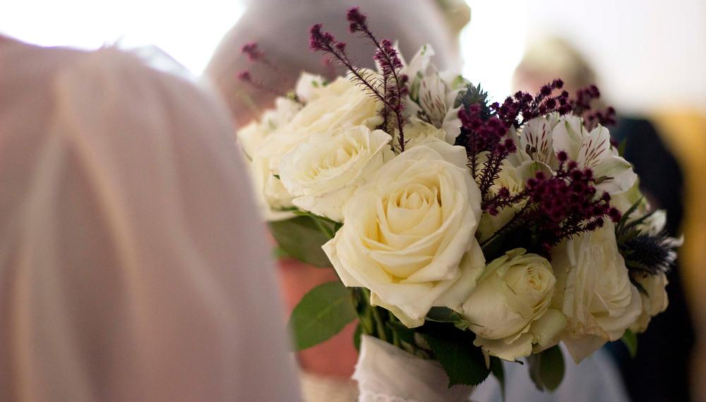 Bridal bouquet Hope Street Hotel Wedding