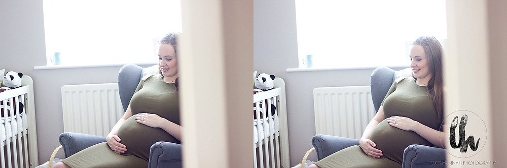 Mum to be relaxed maternity session