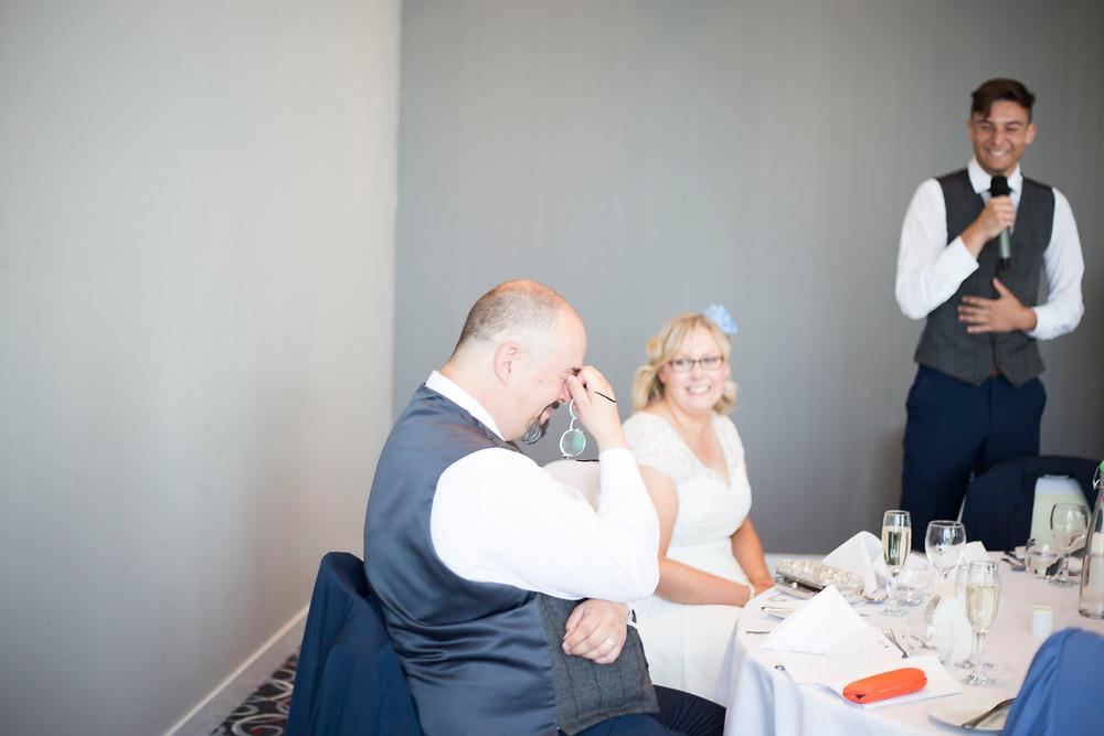 Colourful wedding at Raddison Blu Liverpool
