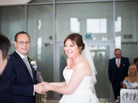 Liver Building Wedding Sneak Peeks