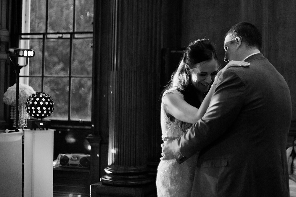 First dance at Croxteth Hall wedding