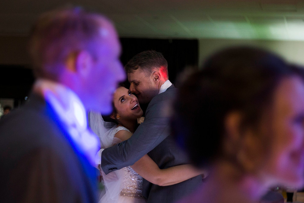 bride and groom first dance liverpool wedding