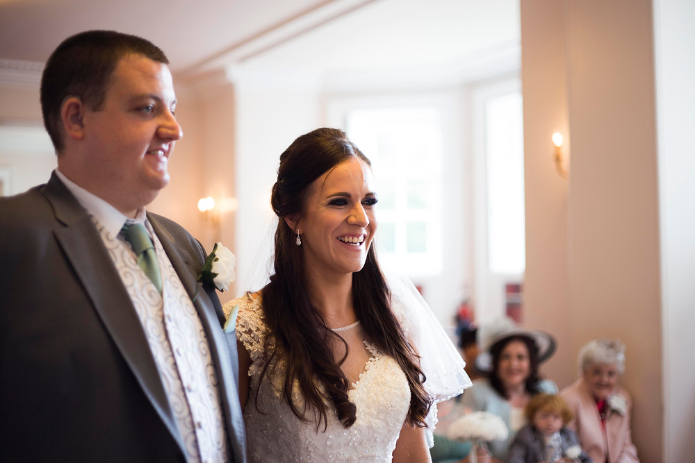 Wedding ceremony at Croxteth Hall Liverpool