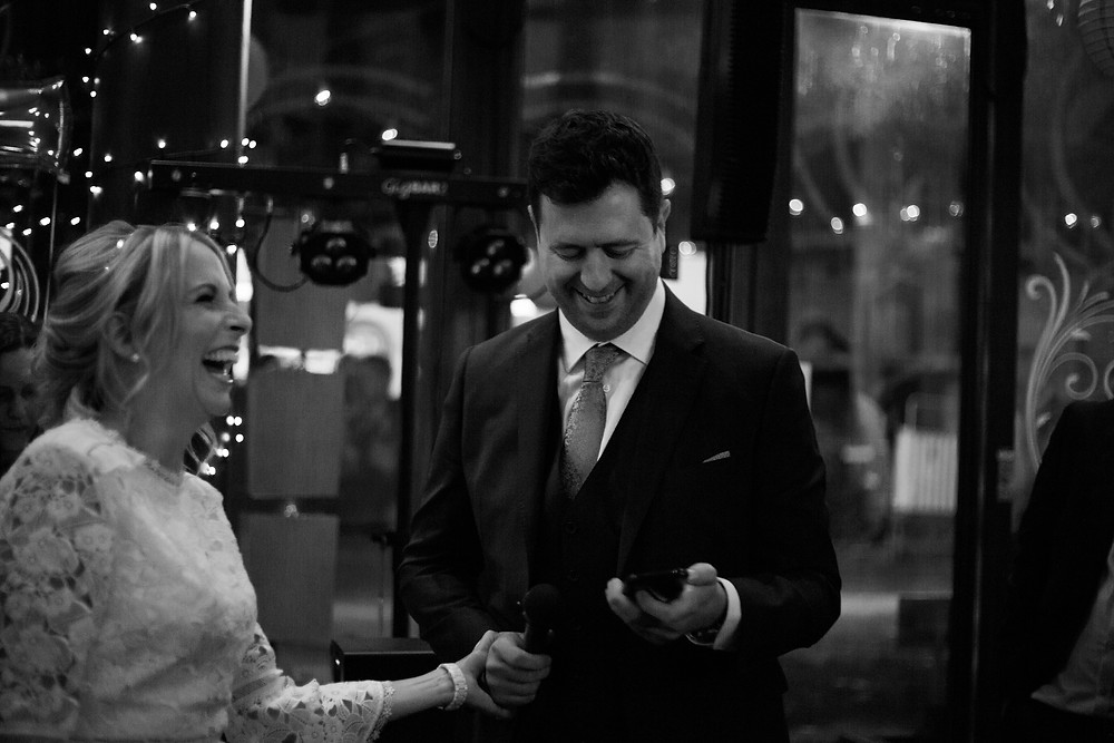 Bride and groom at Siren Wedding Liverpool