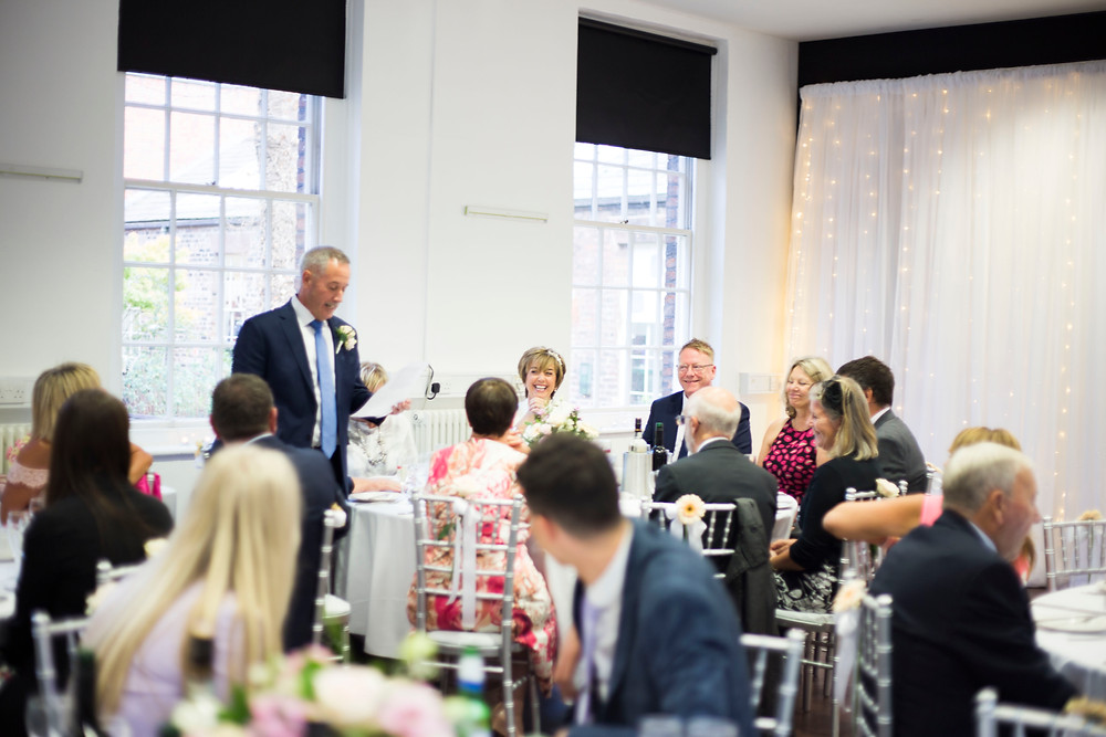 Speeches at The Bluecoat Wedding Liverpool