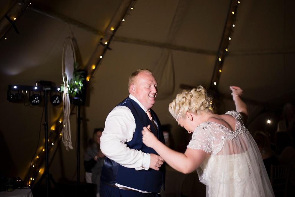 Oaklea Barn Wedding Liverpool First dance