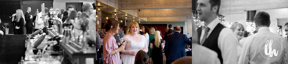 guests enjoying a wedding at everyman theatre