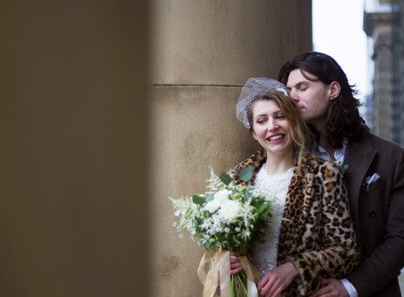 How to wear leopard print on your wedding day
